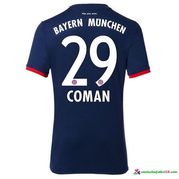 Coman Camiseta 2ª Kit Bayern Munich 2017 2018